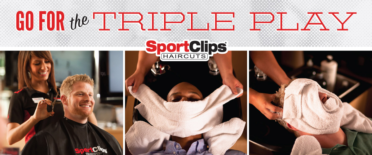 The Sport Clips Haircuts of Enfield - Brookside Plaza Triple Play